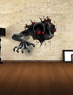 3D Wall Stickers Wall Decals, The Devil Decor Vinyl Wall Stickers