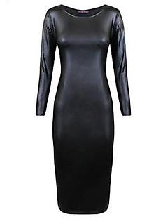 Vestidos ( PU , Sin Forro )- para mujeres