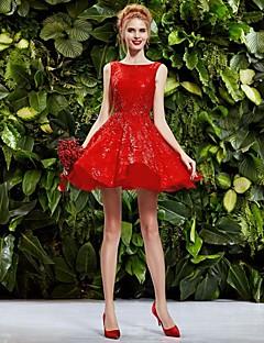 robe Homecoming princesse collier genou mariage (dentelle) / robe de soirée / robe quotidienne plus de couleurs