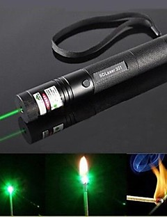 LS319 G301 Focus Burn Visible Beam Pen Laser Green Laser Pointer (5mw, 532nm, Black)
