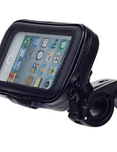 עמדת בעל עמיד אופניים מים אופנוע M05 לgps, iPhone 5 (שחורה)