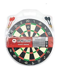 winmax® indoor spel 12 inch mini papier dartbord met vier ijzeren darts