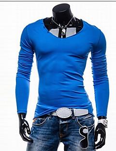 gzzg Männer Casual Langarm dünne T-Shirts