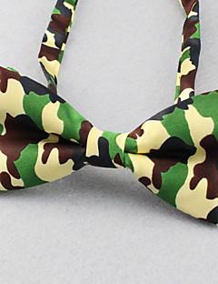 SKTEJOAN®Men's Fashion Show Camouflage Bow Tie