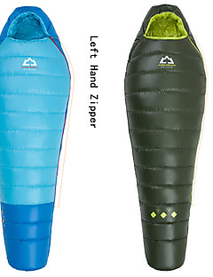 Sleeping Bag Mummy Bag Single 0°C~+3°C Duck Down 180g 203cmX80cm Hiking / Camping / Beach / Fishing / Traveling / IndoorBreathability /