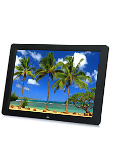 """15"""" 1080P HD LED Digital Photo Frame MP5 Player Support Most Video Formats"""