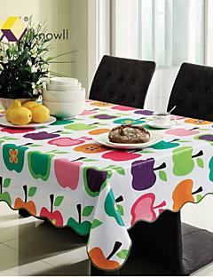 knowll imperméable linge de table hôtel pvc nappe rectangulaire insipide de protection de l'environnement