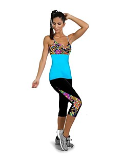 Running Leggings / 3/4 Tights / Pants/Trousers/Overtrousers / Bottoms Women's Quick Dry / Wearable / Compression / Shockproof Elastane