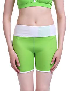 regenboog esdoornblad vrouwelijke nieuwe high-end fashion yoga broek drie fitness broek drie llight groen / grijs