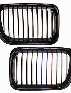 m-farve skinnende sort gitter grill nyre til BMW E36 3 serie m3 97-99