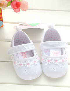 Baby Shoes Wedding/Dress/Casual Cotton Flats White