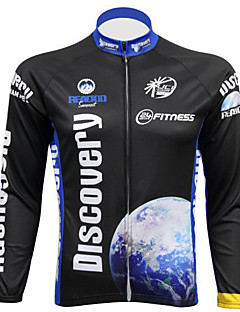REALTOO Men's  Long Sleeve Spring/Summer/Autumn Breathable Cycling Jerseys