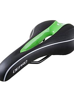 westen biking® fietszadel lichaamsvorm comfortabele fiets zadel holle ontwerp ademende leren fietsen zadels