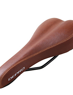 WEST BIKING® Bicycle Saddle DEPRO Mountain Bike Cushion Soft Road Bike Saddles Retro Cushion Leather Bicycle Saddles