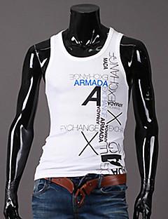 Maimi Men's Casual/Work/Formal Print Sleeveless Regular Vests (Polyester)