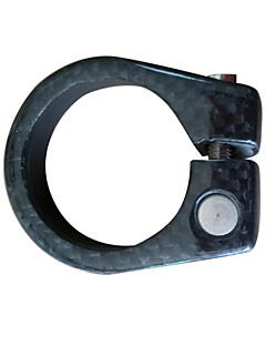 Carbon Alloy Black Bicycle Seat clamp 36.6mm Bike Clamp
