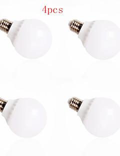 4pcs HRY® 12W E27 30XSMD5630 1000LM LED Globe Bulbs LED Light Bulbs(220V)