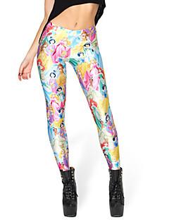 Dun - Polyester/Bamboe koolstofvezel/Bamboevezel - Legging - Vrouw - Legging