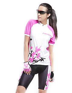 FORIDER® Cycling Jersey with Shorts Women's Short Sleeve Bike Breathable / Quick Dry / Ultraviolet Resistant Clothing Sets/SuitsElastane