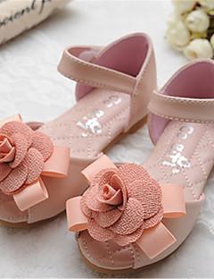 Sandaalit - Tekonahka - Pinkki/Beesi - Avokärkiset