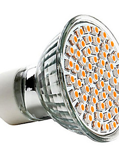 Lampadina LED, luce calda, GU10 2.5W 60x3528SMD 240LM 2700K (220-240V)