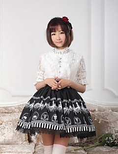 Black  Sweet  Lolita  Crystal Light Story  Skirt Lovely Cosplay