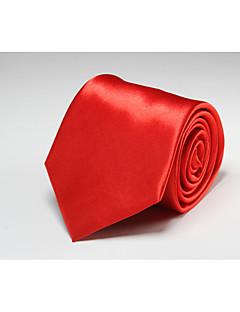 Herrer Slips,Kontor / Fritid Polyester,Ensfarget