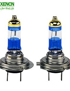 la lampe de voiture ampoule UV phare halogène auto 65w 4300K or diamant de remplacement de h7 xencn