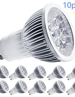 Spot LED Gradable Blanc Chaud / Blanc Froid MORSEN 10 pièces MR16 GU10 5W LED Haute Puissance 350-400 LM AC 100-240 / AC 110-130 V