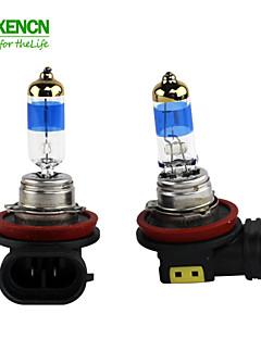 새로운 xencn H8의 12V의 35w의 pgj19-1의 5000K의 teleeye 강렬한 빛 자동차 안개 헤드 라이트 할로겐 전구 UV 필터 자동 램프