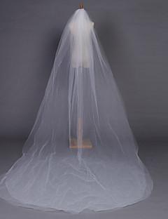 Wedding Veil Two-tier Chapel Veils Pencil Edge