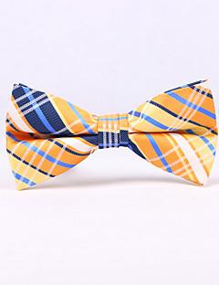 The Scottish plaid bow ties