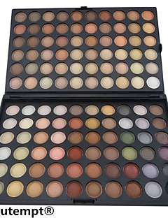 120 Colors Professional Eyeshadow Makeup Cosmetic Palette(Warm Color Series)