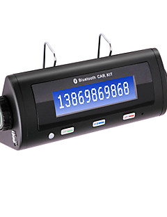 Bluetooth Car Kit w/ Caller ID Display, Dual Standby, Automatic Connection, Bluetooth Hands-free