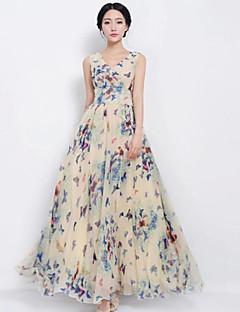 Women's Beach Dress Maxi Chiffon