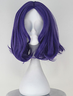 Cosplay Wigs Seraph of the End Cosplay Purple Short Anime Cosplay Wigs 33 CM Heat Resistant Fiber Female
