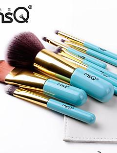 fibres maquillage bleu les ensembles de brosses de msq®