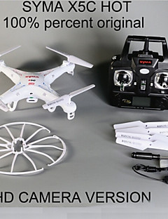 hoge kwaliteit QuadroCopter SYMA x5c-1 upgrade drone SYMA x5c rc helikopter met camera 2 mp hd camera