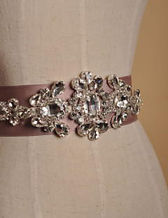 Wedding Dress Belt / Rhinestone Bridal Wedding Dress Belt