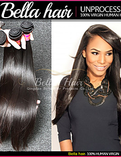 Brazilian Bundle Hair Straight Hair Weave 3pcs/lot Virgin Remy Human Hair Extensions Double Weft
