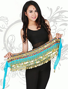 Belly Dance Performance Hip Scarves Children's Polyester Fashion Coins Hip Scarves (More Colors)