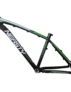"""MB-NT02 Neasty Brand 2016 New Painted Green White Color Painted High Qulity 26er Full Carbon Fiber Mtb Frame 15""""/17"""""""