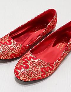 Chaussures de mariage - Rouge / Or - Mariage / Décontracté / Soirée & Evénement - Ballerine - Plates - Homme