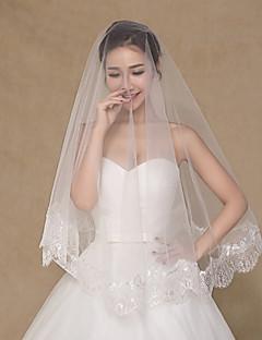 γαμήλιο πέπλο one-tier πέπλα αγκώνα