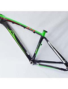 """Neasty Brand MB-NT02 Full Carbon Fiber MTB Frame Bright Green White Decal 26er Frame 15""""/17"""""""