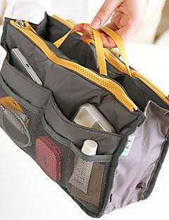 Smikkészlet tárolás Szépségápolási táska / Smikkészlet tárolás Poliészter Egyszínű 30*8.5*18.5Fekete Elhalványulnak / Grey Gradient /