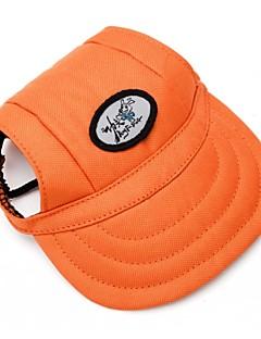 חתולים / כלבים כובעים ומטפחות כתום בגדים לכלבים קיץ/אביב ספורטיבי Leopard