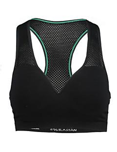 kvinnor polyester spandex mesh vadderad stickad andningsbar rinnande Gympaskor sömlös bh