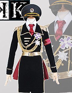 Anime <K > K Project The Missing King Kushina Anna Military Uniform CosplaySuit