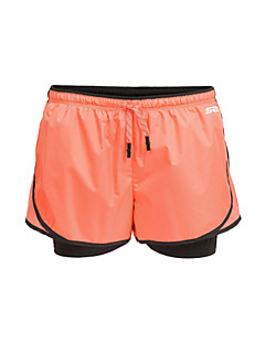 Baggy Shorts ( Grön/Svart/Orange ) - Dam - Yoga/Pilates/Fitness/Leisure Sports/Löpning -Andningsfunktion/Fuktgenomtränglighet/Snabb